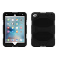 Griffin Survivor All-Terrain Heavy Duty Tough Case with removable stand and integrated screen protection - iPad Mini 4, Black