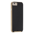 Case Mate Slim Tough Case - dual layer protection - iPhone 6/6s, Black/Gold