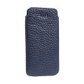 Sena Ultraslim Classic - genuine leather case/pouch - iPhone 6/6s Plus/7 Plus/8 Plus, Blue