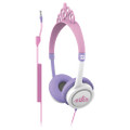 iFrogz Little Rockers volume limited headphones for kids - Tiara Pink