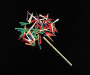 "14"" Corkscrews Confetti Sticks"