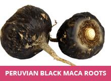 black maca roots