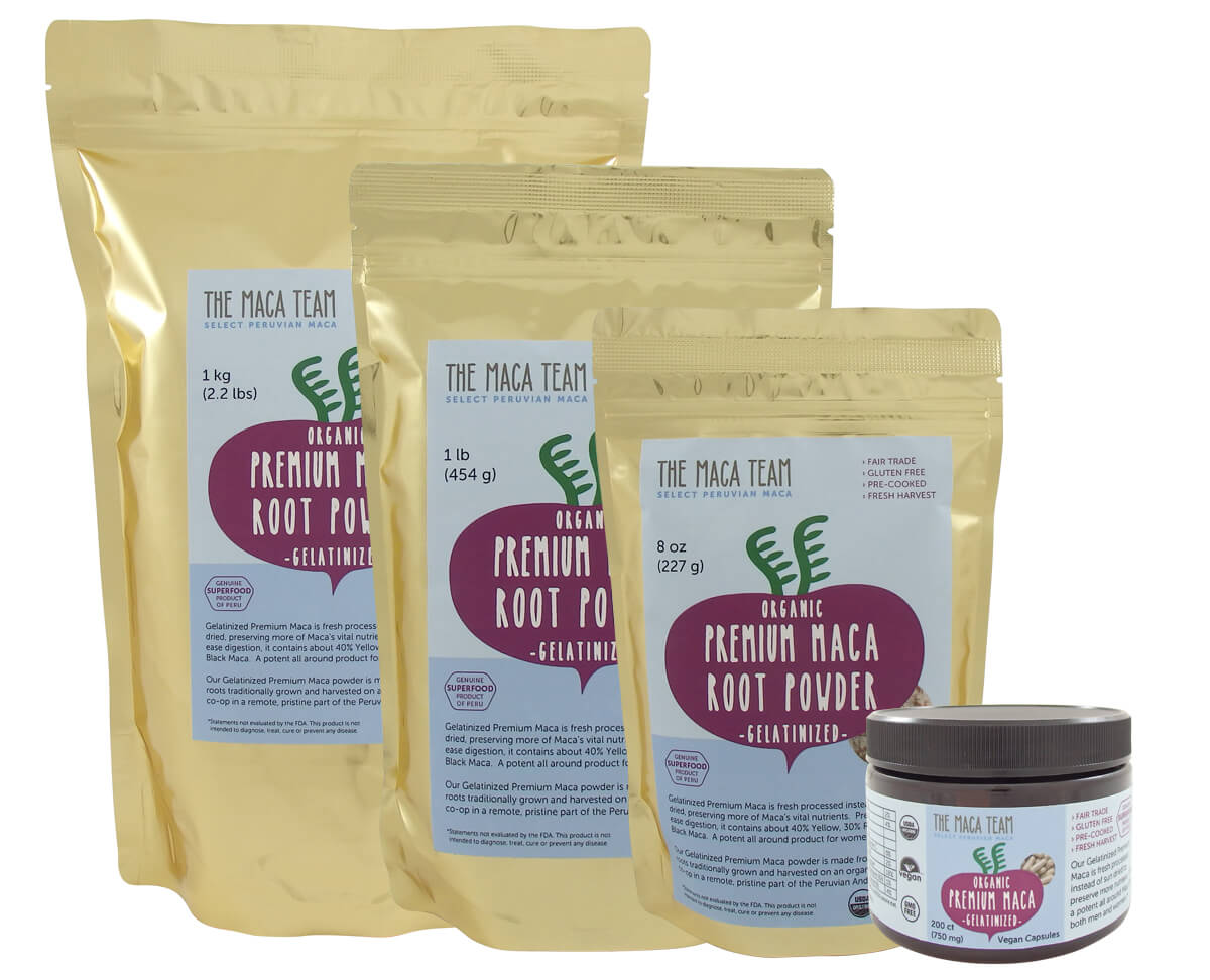 premium-gelatinized-maca products