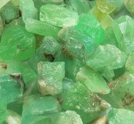 6 x Emerald Calcite