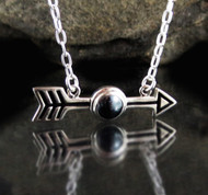 Hematite Arrow Necklace 10