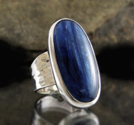 Blue Kyanite Ring 28