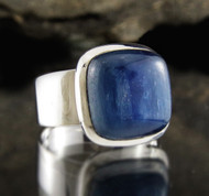 Blue Kyanite Ring 29