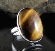 Tiger Eye Ring 15