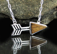 Tiger Eye Arrow Necklace 3