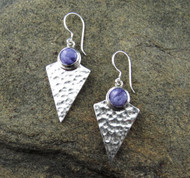 Charoite Earrings 3
