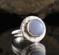 Blue Lace Agate Ring 2