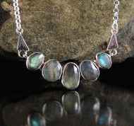 Labradorite Necklace 3