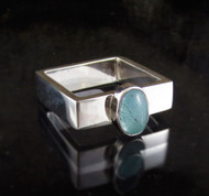 Aquamarine Ring 13