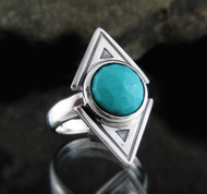Arizona Turquoise Ring 18