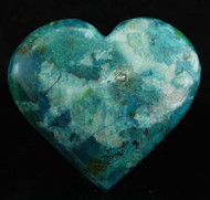 Chrysocolla Heart 8