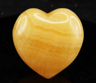 Orange Calcite Heart 5