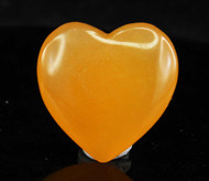 Orange Calcite Heart 6