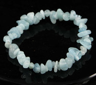 Aquamarine Chip Bracelet 10