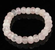Rose Quartz Faceted Bracelet 10