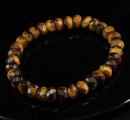 Tiger Eye Faceted Bracelet 4