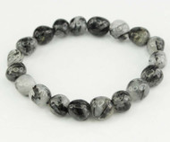 Tourmaline In Quartz Pebble Bracelet 3