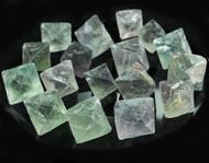 Green Fluorite Octahedron
