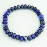 Lapis Lazuli Faceted Bracelet 11