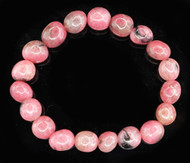 Rhodonite Pebble Bracelet 3