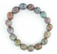 Ruby Kyanite Pebble Bracelet 5