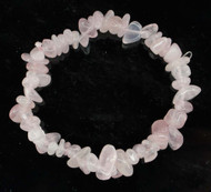 Rose Quartz Chip Bracelet 8