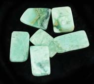 Blue Smithsonite Polished Stone 4