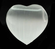 Selenite Heart 9