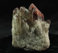 Red Quartz Hematite Cluster Australian 17