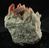 Red Quartz Hematite Cluster Australian 23