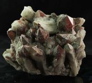 Red Quartz Hematite Cluster Australian 28