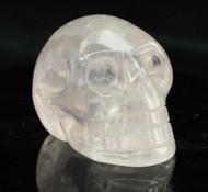Gemmy Rose Quartz Skull 6