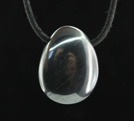 Hematite Tumbled Stone Pendant 2