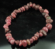 Rhodonite Chip Bracelet 4