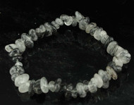 Tourmaline In Quartz Chip Bracelet 8