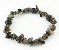Smoky Quartz Chip Bracelet 9