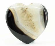 Black Agate Heart 5