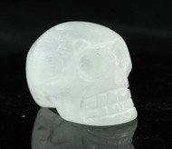 Selenite Skull