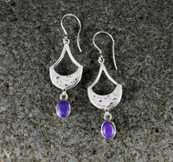 Sugilite Earrings 2