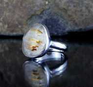 Rutilated Quartz Ring 10