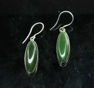 Nephrite Jade Earrings 2