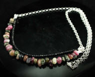 Multi Coloured Black Tourmaline Necklace 9