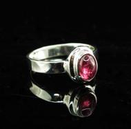 Pink Tourmaline Ring 17