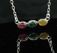 Multi Colour Tourmaline Necklace 32
