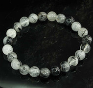 Tourmaline In Quartz Round Bracelet 5