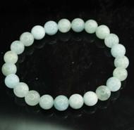 Aquamarine Round Bracelet 11